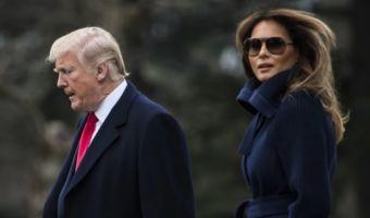 Стена поперёк Белого дома. У Дональда Трампа и первой леди разные приоритеты, считают СМИ
