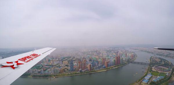 Как выглядит Северная Корея с высоты птичьего полёта. Сингапурскому фотографу разрешили сделать редкую съёмку