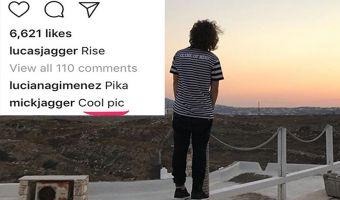 Мик Джаггер комментит фотки сына в Instagram. И он там такой заботливый батя, что не умилиться не получится