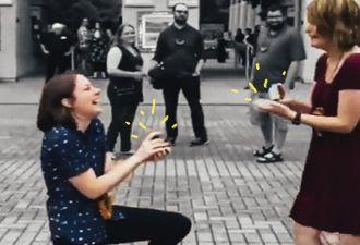 Девушка из Теннесси приготовила подруге сюрприз: предложение руки и сердца. Но у подруги был свой план