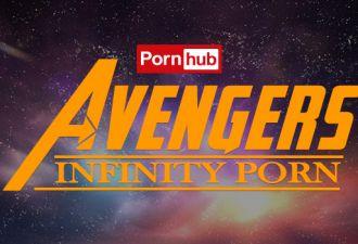 Make love not war. «Мстители: Война бесконечности» на 350 процентов подняли интерес к супергероям на PornHub
