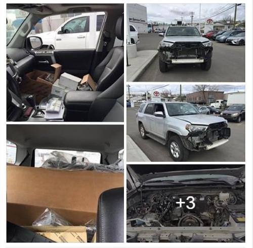 Канадка выложила в фейсбук леденящие душу фотографии машины после сервиса. Оказалось, сама виновата