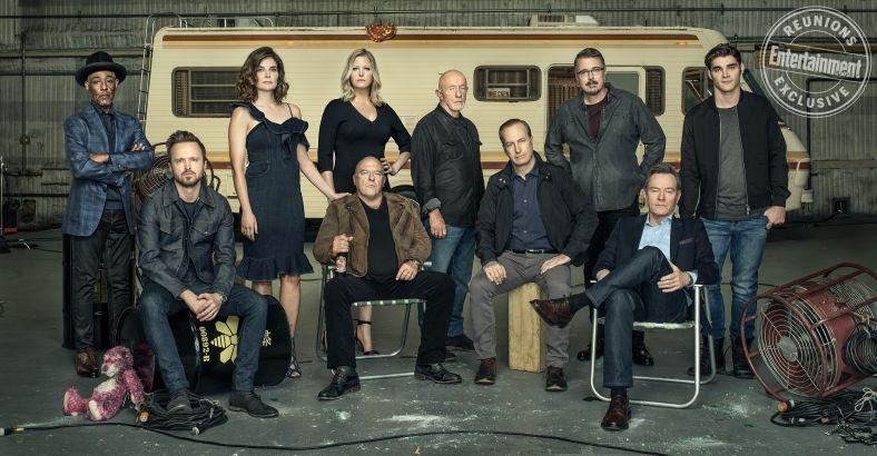 Актёры шоу «Вовсе тяжкие» воссоединились на10 лет сериала