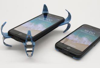 Смартфон падает и не разбивается. Немецкий студент изобрёл подушку безопасности для гаджетов