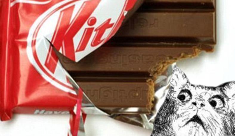 Парень так неправильно откусил Kit Kat, что вмешались кондитеры. Ведь миру угрожал новый вечный спор