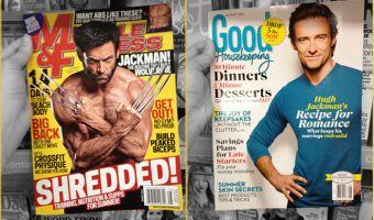 Крутой и домашний Росомаха. Чем отличается маркетинг для мужчин и женщин — в двух обложках с Хью Джекманом