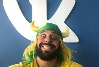 Тот самый бразилец «офигенно, братан» зарегистрировался в соцсети «ВКонтакте». Ранее он просил гражданство
