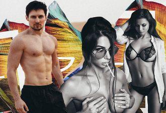Как выглядит инстаграм личного фотографа Дурова? Павел и обнажённые модели, много обнажённых моделей