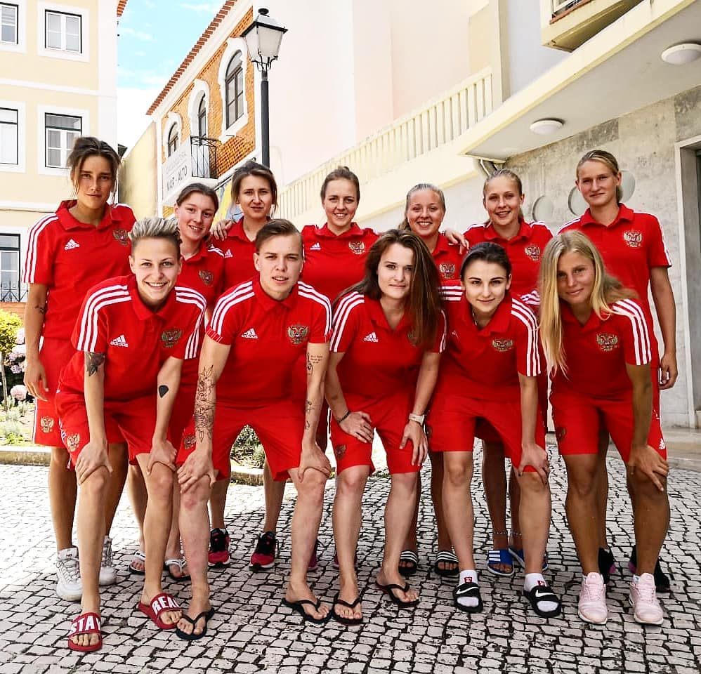 Девушки сборной испании по футболу