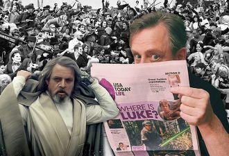 Был или не был Марк Хэмилл на Comic-Con? Актёр так искусно троллил фанатов, что заслужил звание джедая интриги