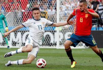 Россия выиграла у Испании по пенальти и вышла в 1/4 финала чемпионата мира. Как это было