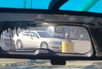 Subaru-гриль. Учёный из США на своём опыте узнал, почему не стоит оставлять в машине большое зеркало