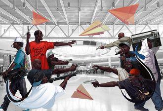 Французские рэперы подрались в аэропорту Орли. И устроили такой хаос, что пришлось закрывать терминал