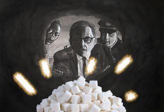 Папа запретил сыну забирать пакетики сахара из ресторанов. Но тот выкрутился в стиле «Побега из Шоушенка»