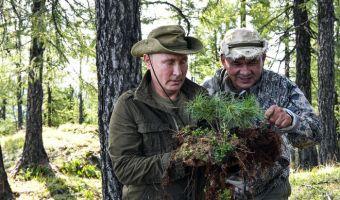 Путин съездил на выходные в Тыву и породил новую порцию мемов. Ему даже не пришлось для этого рыбачить