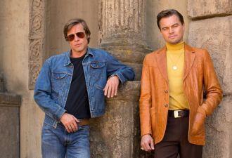 Sony тайно отфотошопила лица Питта и Ди Каприо в промо фильма Тарантино. Теперь их можно увидеть без ретуши