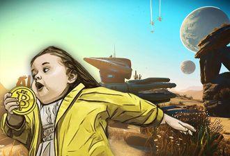 Американец спрятал в No Man's Sky ключ от кошелька с биткоинами на двух из 18 квинтиллионов планет. Ну, удачи