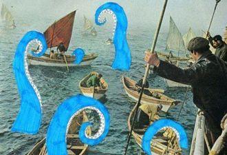 В Новой Зеландии дайверы нашли Кракена. И к его фотографии идеально подходят пляжные диалоги из Сочи