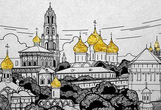РПЦ решила построить в Сергиевом Посаде центры для молодёжи и медиа. И всё равно впихнула туда гигантский храм