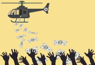 Ограбление из GTA наоборот. Футбольный клуб из Вегаса швыряет фанатам деньги прямо на поле (и там очень жарко)