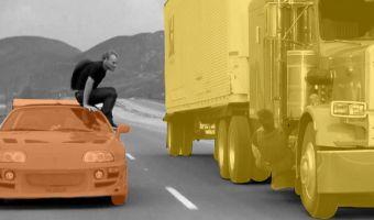 В новом меме герой «Форсажа» перепрыгивает с фуры на машину и обратно из-за сомнений. И мы его понимаем