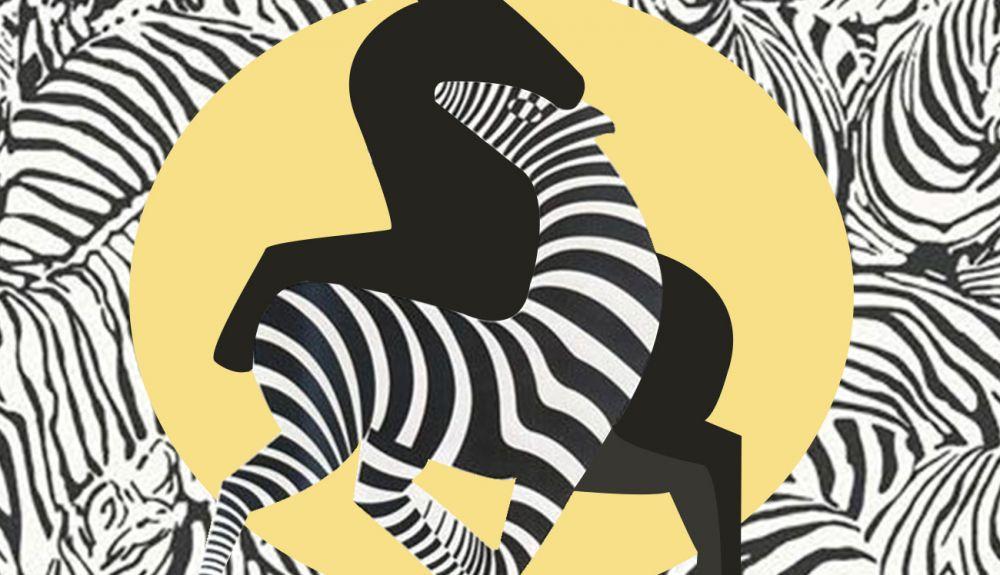 Секс женщин с зеброй
