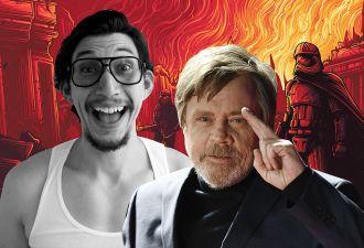 Марк Хэмилл потроллил Адама Драйвера за «Оскар». Но фаны поняли, что это спойлер к новым «Звёздным войнам»