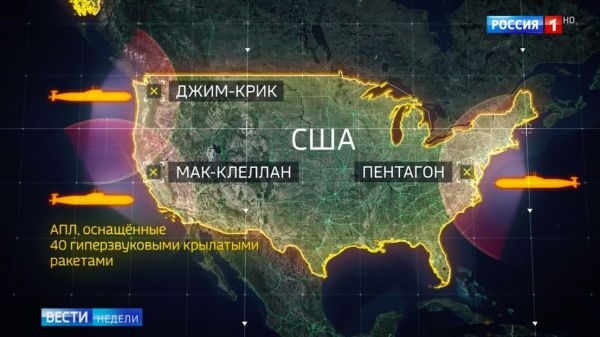 After Putin's Warning, Russian TV Lists Nuclear Targets in US