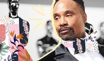 Супруги-геи пришли на «Оскар» и стали самой яркой парой. Платье — закачаешься, и отдыхает даже Леди Гага