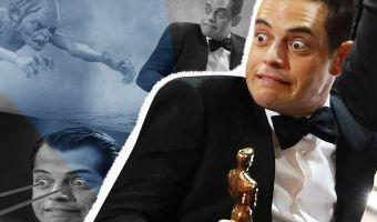 Рами Малек так сильно ухватился за свой «Оскар», что стал мемом. И в нём актёр может сыграть даже Голлума