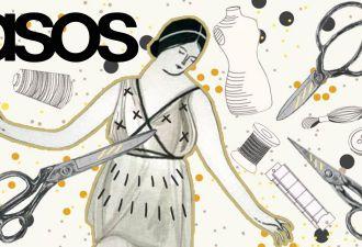 В твиттере смеются над платьем от ASOS. Слишком уж оно напоминает содержимое мусорки (и вызывает ностальгию)