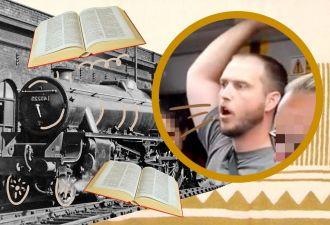 Священник хотел прочитать проповедь, но словил хейт. Стоило выбрать место поудачнее (и не снимать видео)