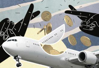 Парню посоветовали бросить монетку в двигатель самолёта на удачу. Но вряд ли это сработает в суде