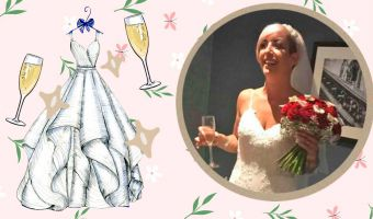 Невеста сделала свадебное платье своей мечты. И для этого ей понадобилось 30 кг металла и кузнец