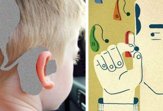 Мальчику приходится носить слуховые аппараты, но ему все завидуют. Просто его мама – очень крутой дизайнер