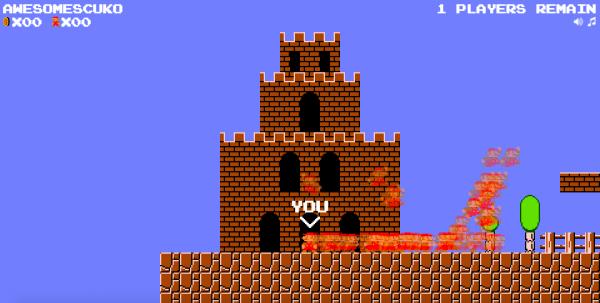 Фанаты добавили режим «Королевской битвы» вSuper Mario Bros