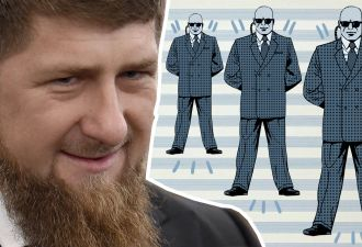 Рамзан Кадыров представил на видео нового начальника своей охраны. И этот громила своим видом напугает любого