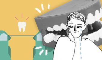 Блогер ленился чистить зубы и решил попробовать новый способ. Это фейл, а зубная нить теперь кажется ему раем