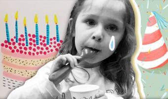 Девочка расстроилась, когда на её день рождения не пришли гости. Но папа придумал лайфхак, как спасти праздник