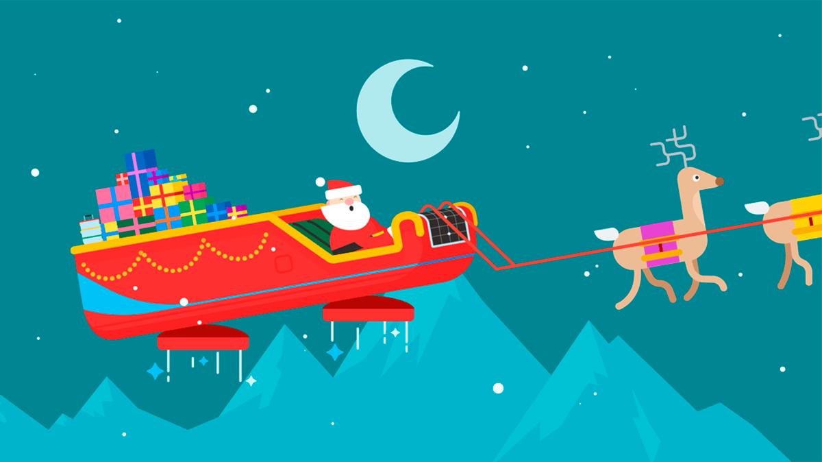 Санта-Клаус - не миллениал, но в технологиях разбирается. Теперь его даже можно вызвать к себе домой