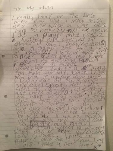 Мальчика попросили написать письмо о близком человеке. Он сделал, но так, что вам понадобится таз для слёз