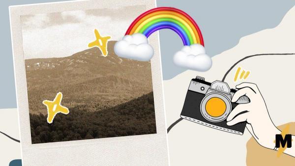 Девушка сделала фото радуги в облаках, и это огонь. Кажется, мы всё же живём в матрице, но какой же красивой