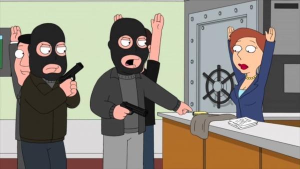 Грабитель ворвался на станцию с винтовкой, а соцсети умирают со смеху. Ведь внешний вид преступника - нечто