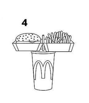 4 этап - приятного аппетита! как расправиться с полноценным обедом, держа его всего в одной руке?