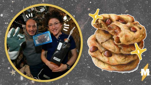 Космонавты испекли печенье на МКС, но не могут его съесть. Всё потому, что это эксперимент (и очень жестокий)
