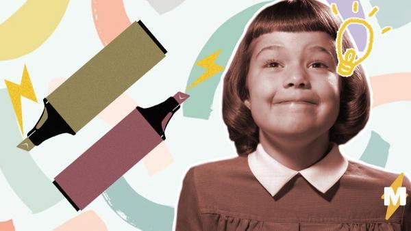 Девочка опробовала на себе новые маркеры и напугала родителей. Художества смешные, а их последствия страшные
