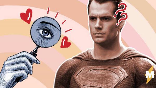 """Фанатки присмотрелись к кадрам из """"Лиги справедливости"""". Похоже, мы ошибались насчёт способностей Супермена"""