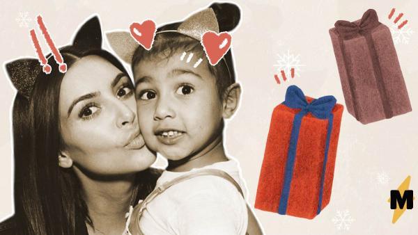 Ким Кардашьян обвинили в ужасном подарке для дочери. Но оказалось её оппоненты клюнули на удочку тролля