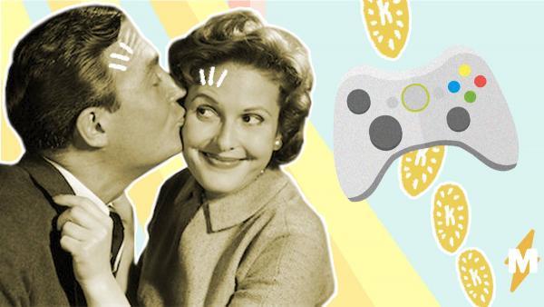 Мужчины и женщины поспорили, что лучше - консоль vs. туфли. И из-за аргументов дам переобуваются даже парни