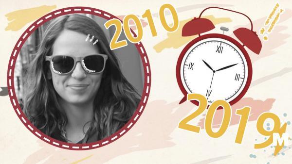Из 2019-го в 2010-й. Девушка переместила себя во времени (почти) и показала, как изменился мир